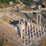 Устройство храма Аполлона в Дидимах.