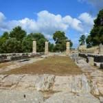Культурное назначение храма Геры в Олимпии.