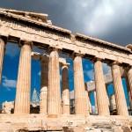 А, ведь греки могли бы жить, если бы не уважали свою древнегреческую демократию…