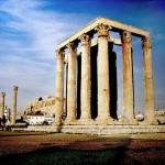 Храм Зевса Олимпийца, Афины