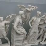 Древнегреческий Олимп и его не очень красивый нимб.