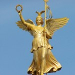 Ника – богиня демократических побед.