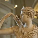 Греческая богиня охоты.